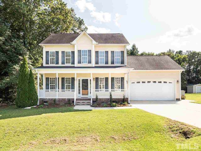 126 Cool Creek Drive, Willow Spring(s), NC 27592 (#2278440) :: The David Williams Group