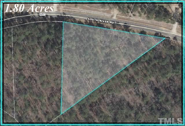 Lot 3 South River Road, Lillington, NC 27546 (#2278520) :: The Jim Allen Group