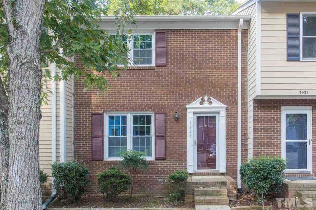 5929 Dixon Drive, Raleigh, NC 27609 (#2278874) :: The Perry Group