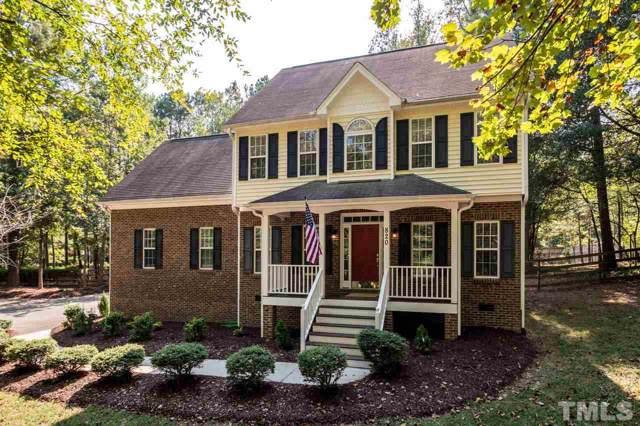 820 Jamestown Road, Pittsboro, NC 27312 (#2279053) :: The Amy Pomerantz Group