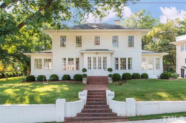 300 Hillcrest Road, Raleigh, NC 27605 (#2279470) :: The Perry Group