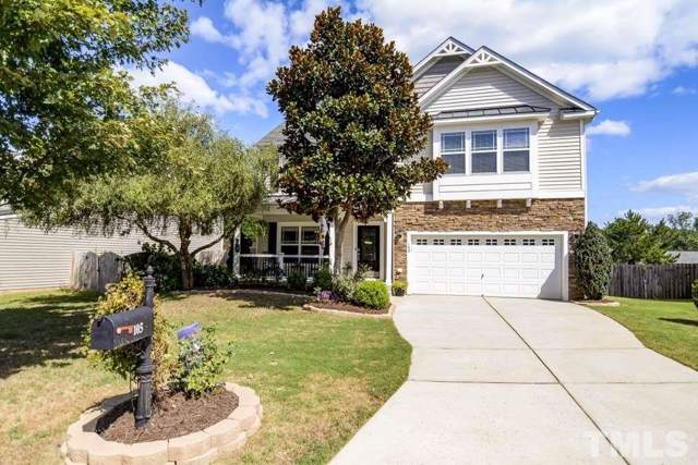 105 Boatdock Drive, Holly Springs, NC 27540 (#2279689) :: Rachel Kendall Team
