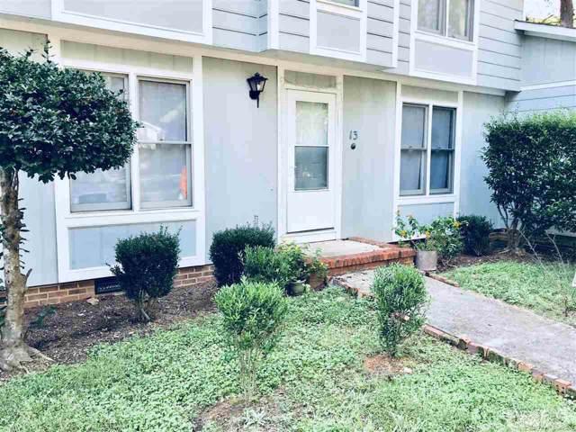 121 Westview Drive #13, Carrboro, NC 27510 (#2281740) :: Classic Carolina Realty