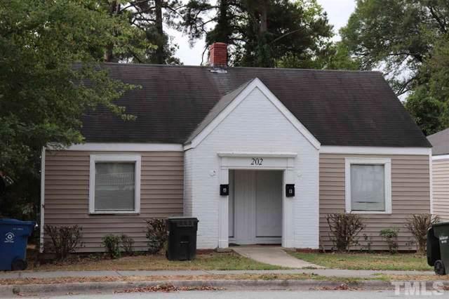 202 E Club Boulevard, Durham, NC 27704 (#2282890) :: Dogwood Properties