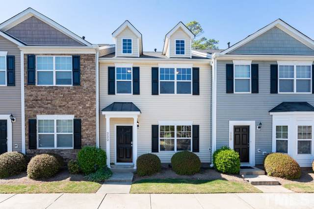 222 Hampshire Downs Drive, Morrisville, NC 27560 (#2283612) :: M&J Realty Group