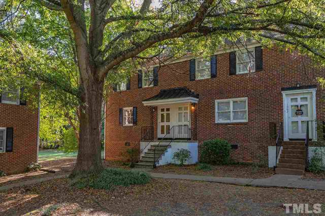 1066 Nichols Drive #1066, Raleigh, NC 27605 (#2284574) :: Real Estate By Design