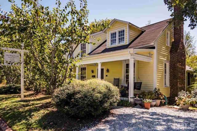 307 W King Street, Hillsborough, NC 27278 (#2284580) :: Dogwood Properties
