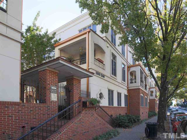208 E Davie Street #208, Raleigh, NC 27601 (#2284705) :: Raleigh Cary Realty