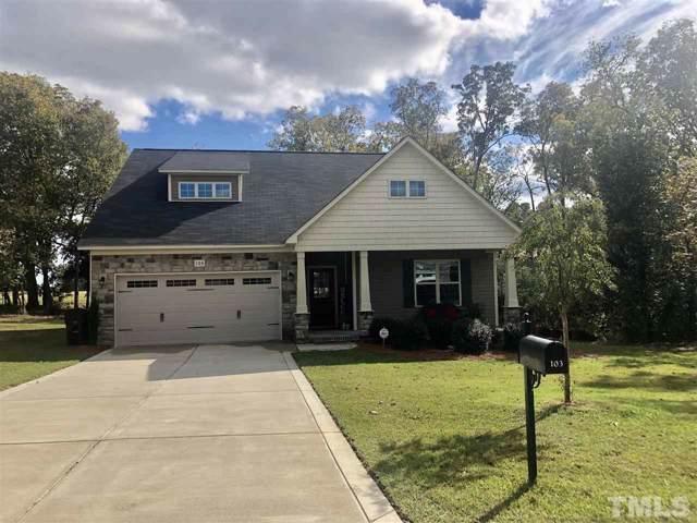 103 Village Drive, Broadway, NC 27505 (#2285603) :: RE/MAX Real Estate Service