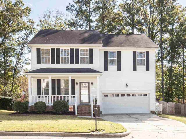 2113 Rocky Mountain Way, Apex, NC 27502 (#2287844) :: Real Estate By Design