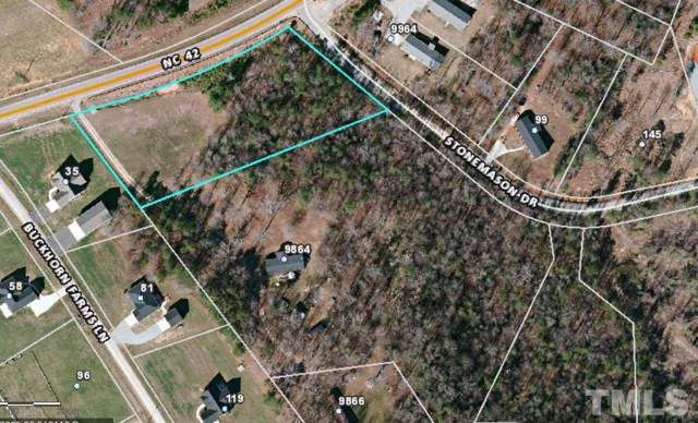 Nc 42 Highway, Holly Springs, NC 27540 (#2288340) :: Sara Kate Homes