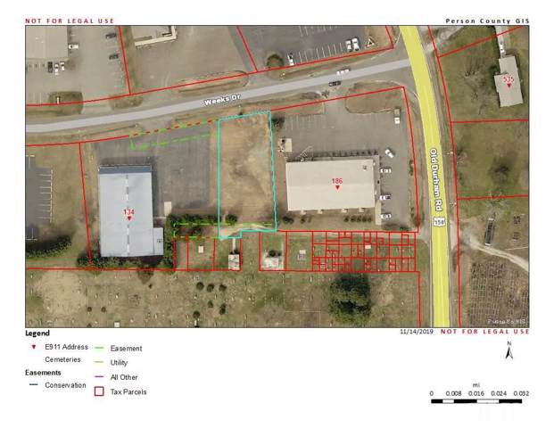 Lot 0.33 acre Weeks Drive, Roxboro, NC  (#2288814) :: Bright Ideas Realty