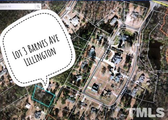 Lot 3 Barnes Avenue, Lillington, NC 27546 (#2288823) :: Sara Kate Homes