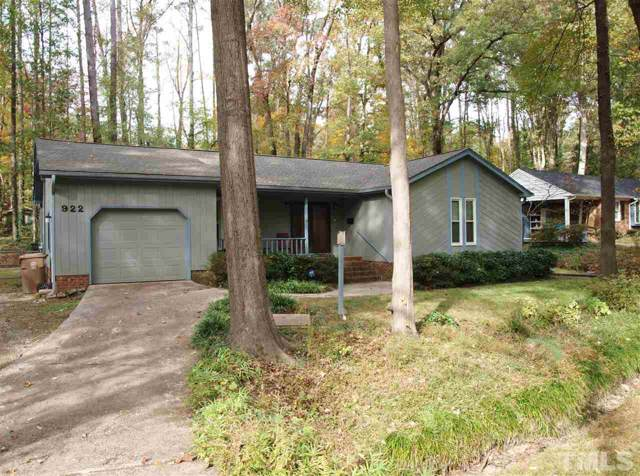 922 Ralph Drive, Cary, NC 27511 (#2289053) :: Raleigh Cary Realty