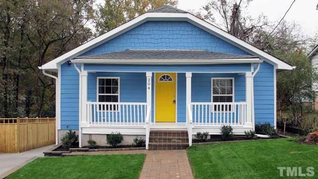 204 Dunstan Avenue, Durham, NC 27707 (#2289320) :: RE/MAX Real Estate Service