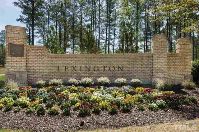 120 Lexington Drive, Apex, NC 27523 (#2289380) :: Raleigh Cary Realty