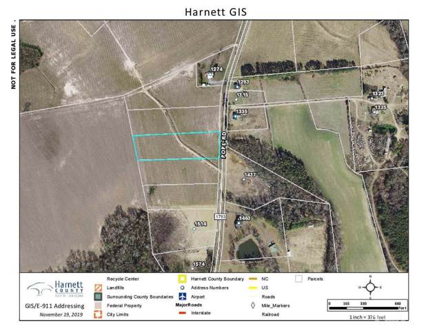 Lot 3 Pope Road, Dunn, NC 28334 (#2289520) :: The Beth Hines Team