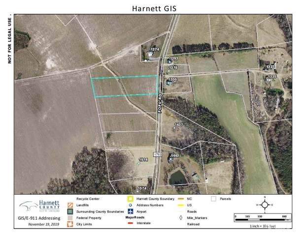 Lot 4 Pope Road, Dunn, NC 28334 (#2289523) :: RE/MAX Real Estate Service