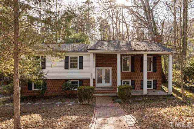 327 Glendale Drive, Chapel Hill, NC 27514 (#2289669) :: The Perry Group
