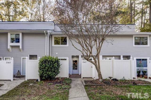 7147 Sandy Creek Drive #7147, Raleigh, NC 27615 (MLS #2289999) :: The Oceanaire Realty