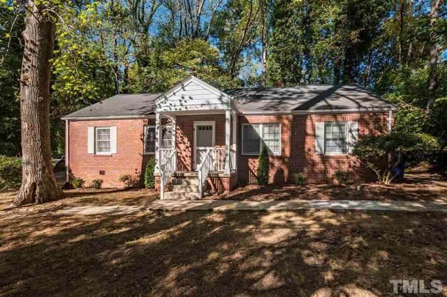 504 Coolidge Street, Chapel Hill, NC 27516 (#2290109) :: Dogwood Properties
