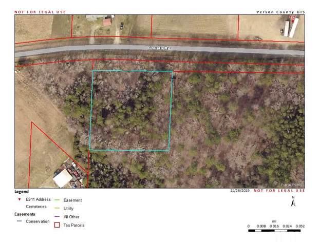 0.97 acre Cousin Road, Rougemont, NC 27572 (#2290720) :: Rachel Kendall Team
