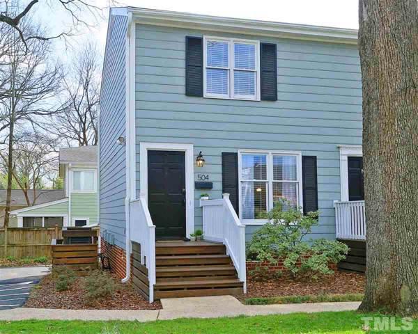 504 E Whitaker Mill Road, Raleigh, NC 27608 (#2291113) :: Dogwood Properties