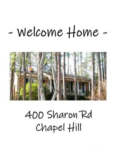 400 Sharon Road, Chapel Hill, NC 27517 (#2291902) :: Dogwood Properties