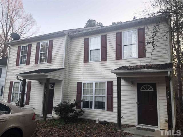 2804 Ferret Court 101-102, Raleigh, NC 27610 (#2292097) :: The Results Team, LLC