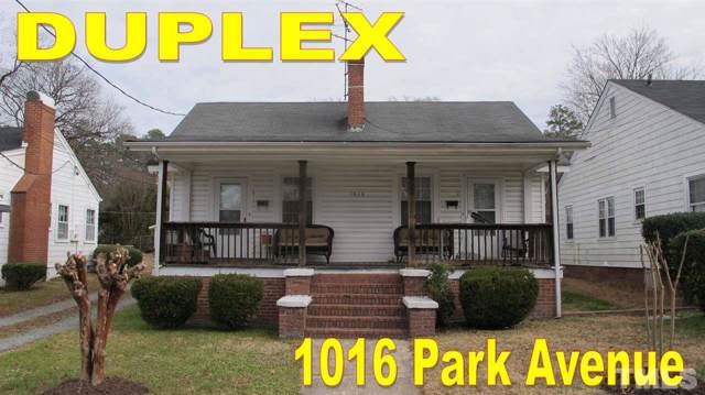 1016 Park Avenue, Durham, NC 27701 (#2292140) :: The Jim Allen Group
