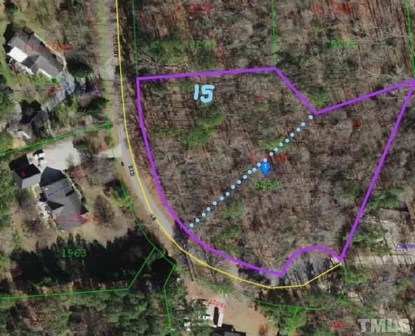 Lot 15 Colony Ridge, Clayton, NC 27520 (#2292822) :: Sara Kate Homes