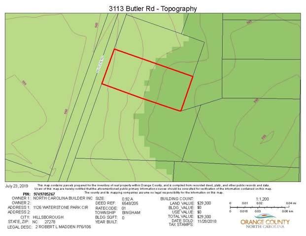 3113 Butler Road, Chapel Hill, NC 27516 (#2293783) :: The Results Team, LLC