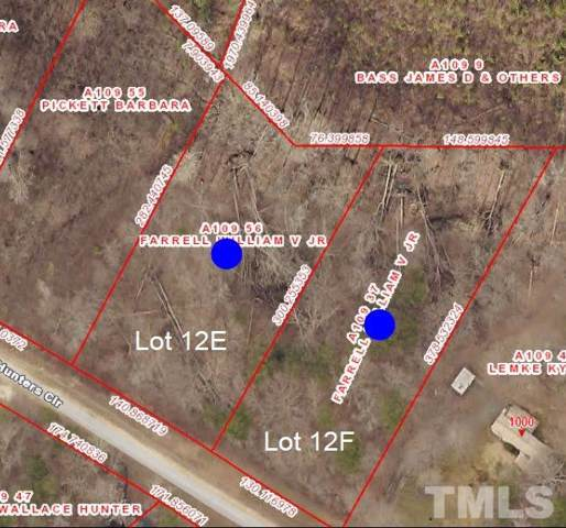 Lot 12F Hunters Circle, Rougemont, NC 27572 (#2294237) :: The Amy Pomerantz Group