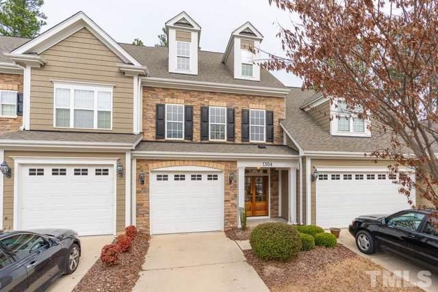 1304 Checkerberry Drive, Morrisville, NC 27560 (#2294730) :: Classic Carolina Realty