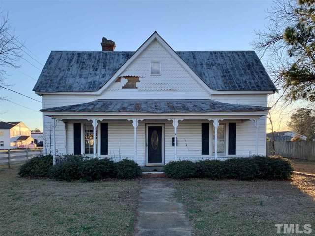 201 W Harnett, Benson, NC 27504 (#2295052) :: Sara Kate Homes