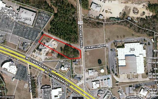 0 N Powell Avenue, Dunn, NC 28334 (#2296264) :: Dogwood Properties
