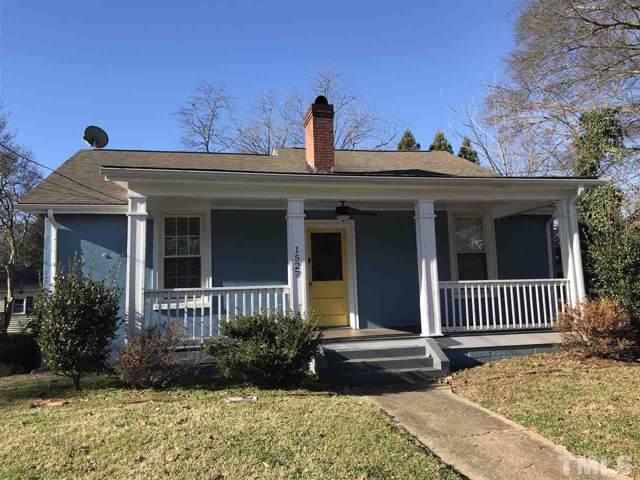 1527 Hanover Street Apt A, Raleigh, NC 27608 (#2296432) :: Dogwood Properties