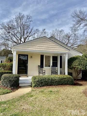 2359 Bernard Street #2359, Raleigh, NC 27608 (#2296882) :: Dogwood Properties