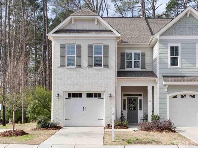 341 Ashton Ridge Lane, Cary, NC 27513 (#2297015) :: Dogwood Properties