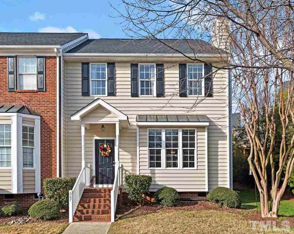 607 Nottinghill Walk, Apex, NC 27502 (MLS #2297121) :: The Oceanaire Realty