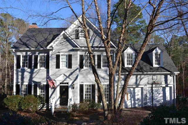 236 Parkgate Drive, Cary, NC 27519 (MLS #2297211) :: The Oceanaire Realty