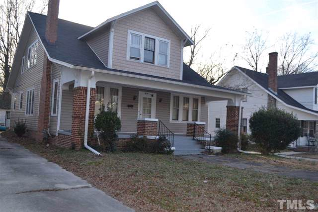 620 E Montgomery Street, Henderson, NC 27536 (#2297270) :: Spotlight Realty