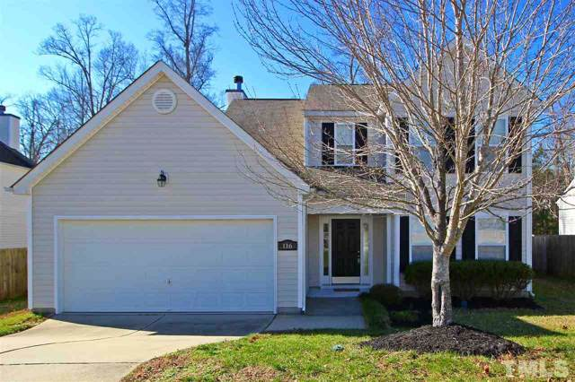 116 Trevor Ridge, Holly Springs, NC 27540 (#2297926) :: Sara Kate Homes