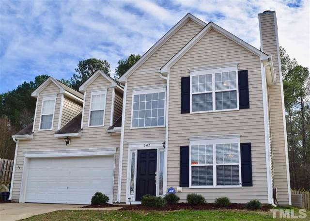 105 Talley Ridge Drive, Holly Springs, NC 27540 (#2298311) :: Sara Kate Homes