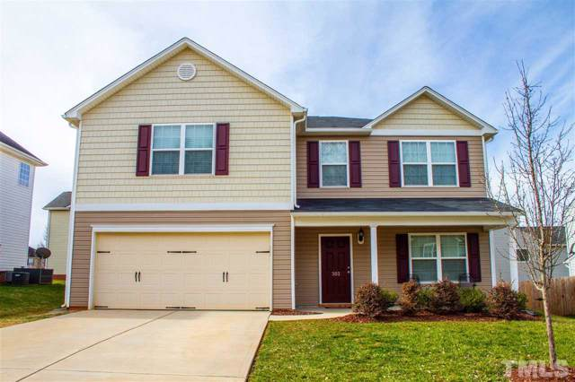 303 Huckleberry Loop, Mebane, NC 27302 (#2298314) :: Real Estate By Design