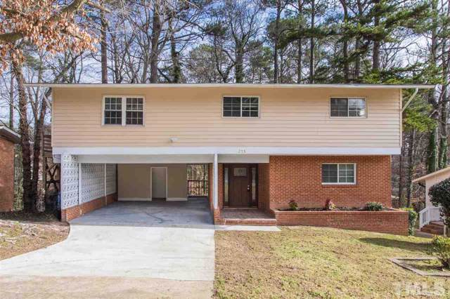 315 E Pilot Street, Durham, NC 27707 (#2298650) :: The Perry Group