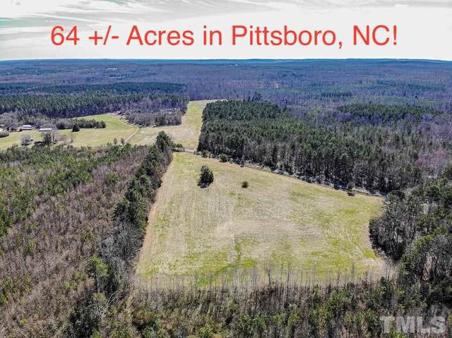 0 Bowman Bare Road, Pittsboro, NC 27312 (#2303834) :: Real Estate By Design