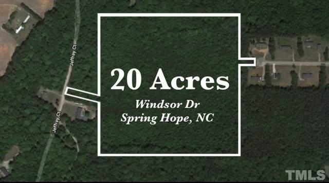 0 Windsor Drive, Spring Hope, NC 27882 (#2309129) :: Spotlight Realty