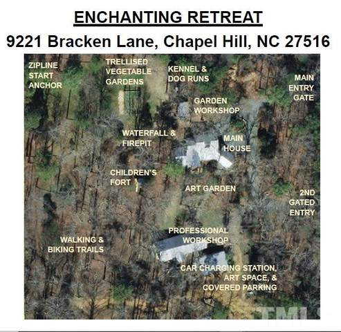 9221 Bracken Lane, Chapel Hill, NC 27516 (#2310155) :: Dogwood Properties
