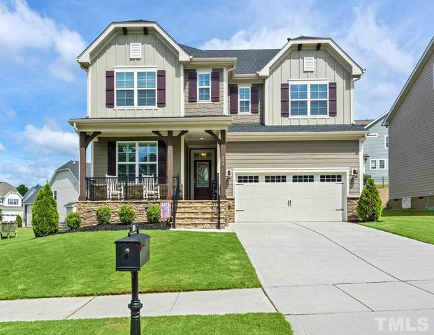 209 Climbing Tree Trail, Holly Springs, NC 27540 (#2312312) :: Rachel Kendall Team